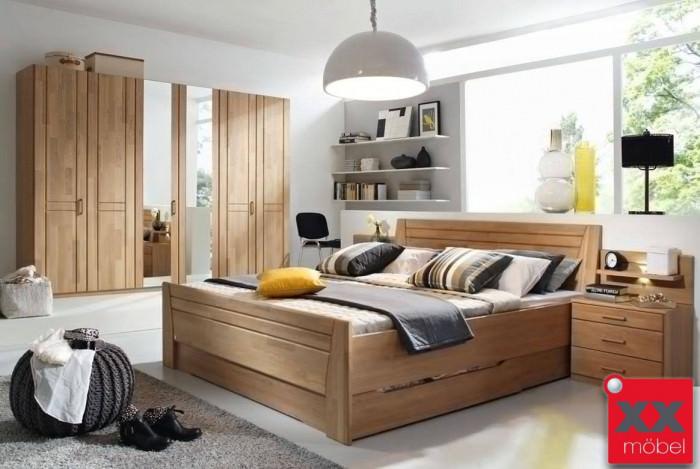 Schlafzimmer | Sitara | Wildeiche teilmassiv | W55