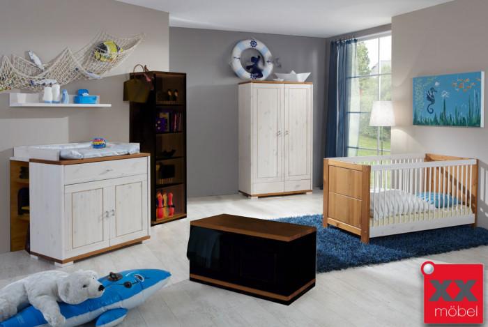 Babyzimmer | 4-tlg. | Vita | Kiefer Massivholz | B44