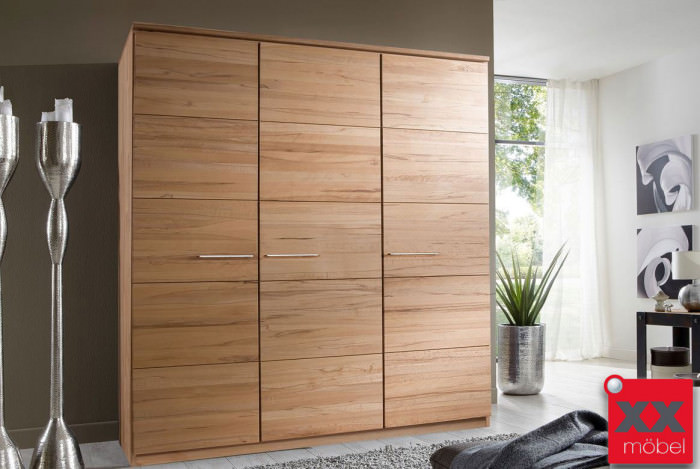 kleiderschrank massivholz front 6 buche kernbuche. Black Bedroom Furniture Sets. Home Design Ideas