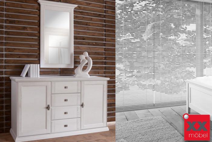 Sideboard Set | Casa | Kiefer teilmassiv | T78
