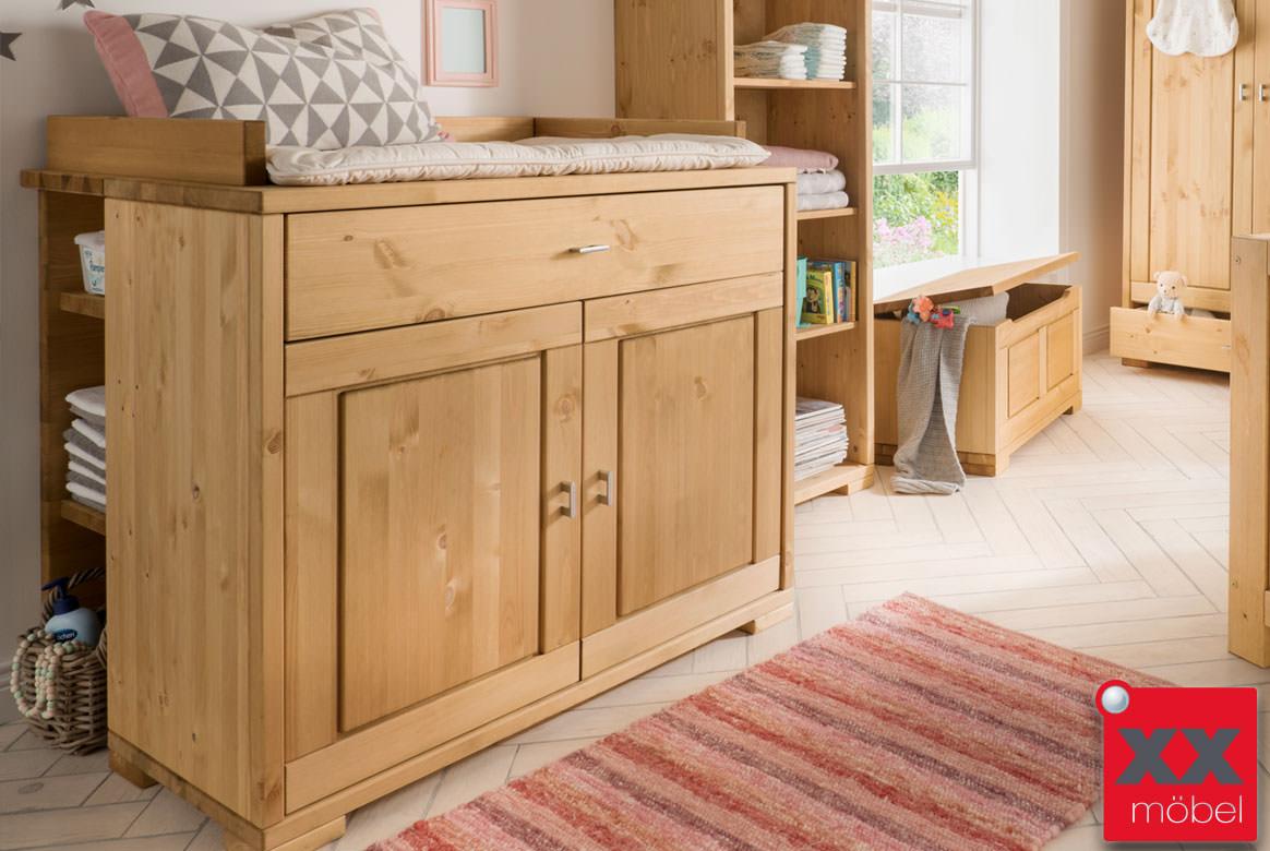 babyzimmer massivholz guldborg vita piccolino kiefer landhausstil b03. Black Bedroom Furniture Sets. Home Design Ideas