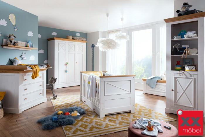 Babyzimmer | Julia | Kiefer Massivholz | B01