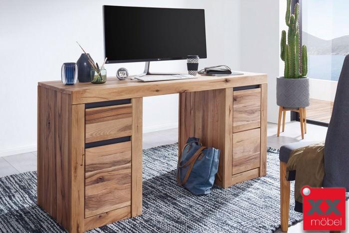 Schreibtisch | Toskana | Wildeiche massiv | T12