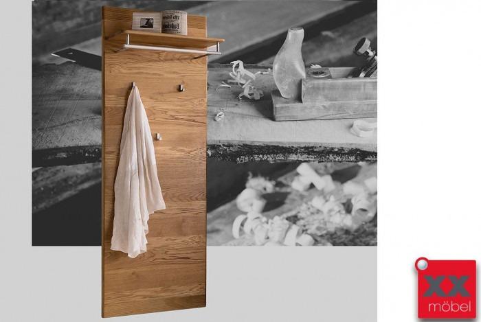 Garderobenpaneel modern bogota wildeiche o kernbuche for Garderobenpaneel modern
