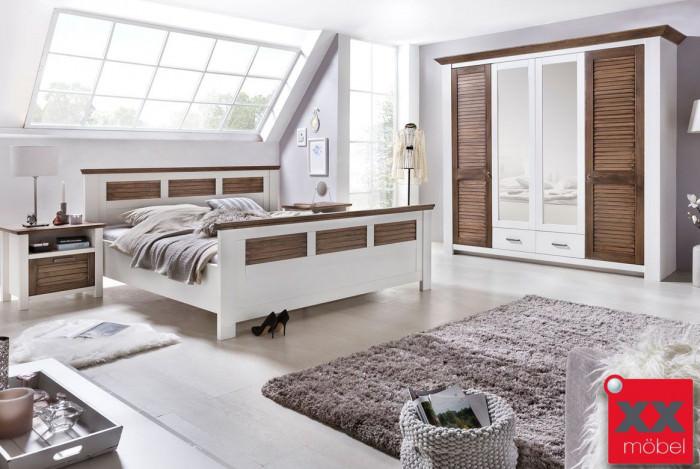 Schlafzimmer | Laguna | Kiefer teilmassiv | P02
