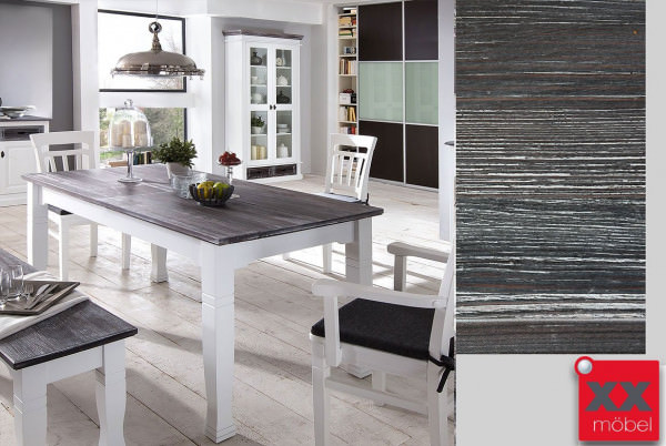 esstisch vintage wei. Black Bedroom Furniture Sets. Home Design Ideas