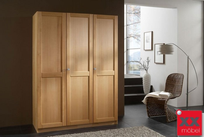 kleiderschrank massivholz m h kleiderschrank buche t10. Black Bedroom Furniture Sets. Home Design Ideas
