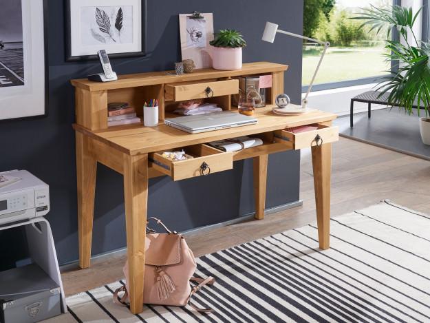 Schreibtisch Prato   Kiefer Massivholz   T20