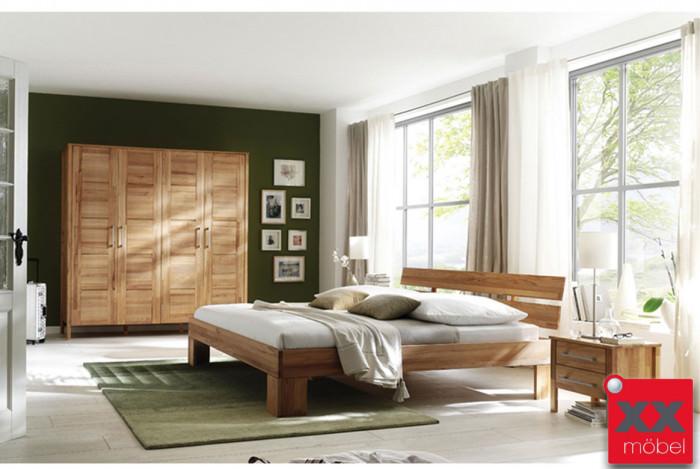 Schlafzimmer | Zenna | Rotkernbuche massiv | K01