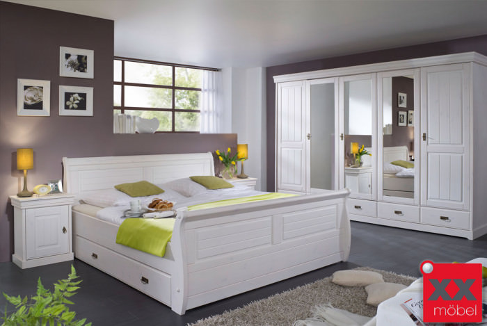 Schlafzimmer | Linea | Kiefer Massivholz | S01