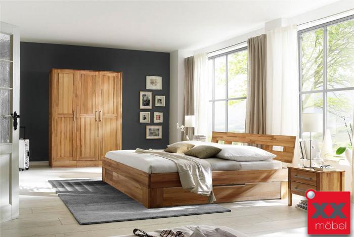 Schlafzimmer | Modset | Kernbuche massiv | K06