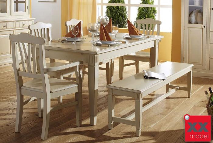 Tischgruppe | Lara G4 | Fichte Massivholz | K01-4G