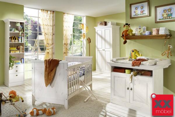 babyzimmer komplett landhausstil | linea | kiefer massiv | k02
