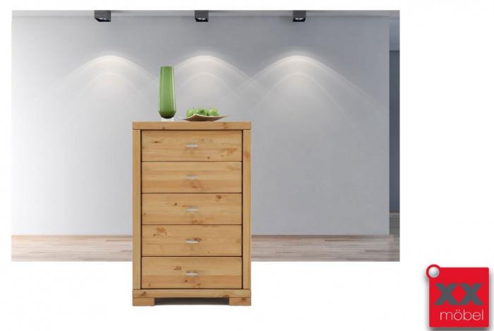Schubladenkommode | Guldborg | Kiefer Massivholz  T502-5