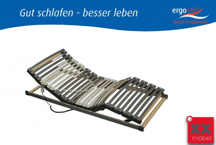 vitalflex slim motor lattenrost 90x200 cm ergovital liegefl che. Black Bedroom Furniture Sets. Home Design Ideas