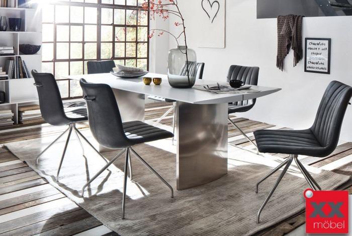 Tischgruppe | Gideon | modern weiß | MG01