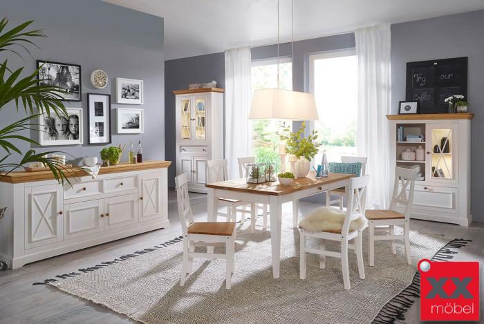 Tischgruppe | Windsor | Kiefer Massivholz | G01