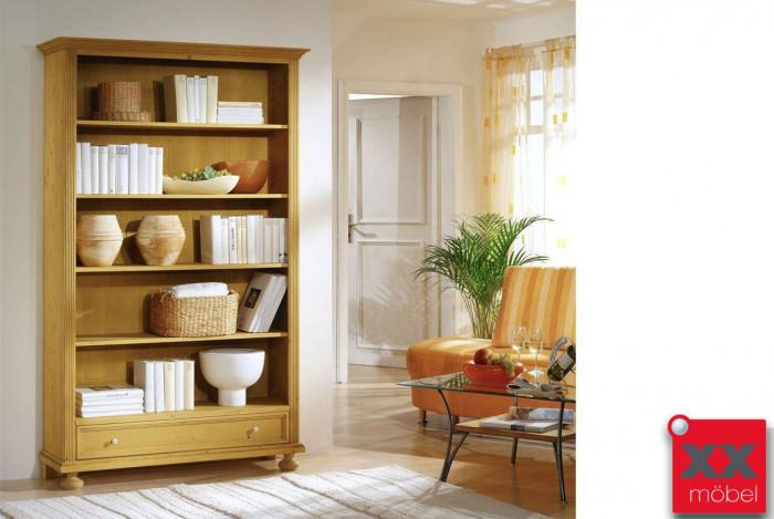 Bücherregal | Alina G1 | Fichte Massivholz | T60