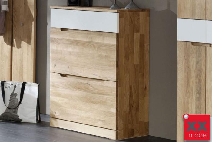 schuhschrank massivholz arcona wildeiche massiv t81. Black Bedroom Furniture Sets. Home Design Ideas