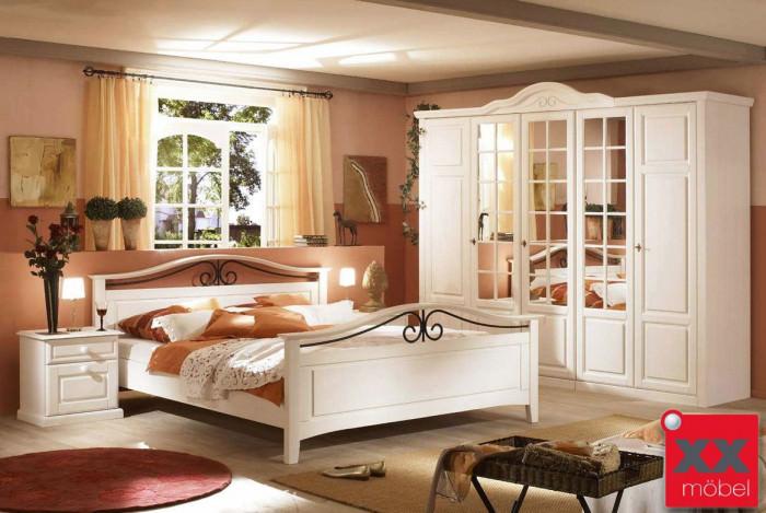 Schlafzimmer | San Diego | Kiefer Teilmassiv | D02