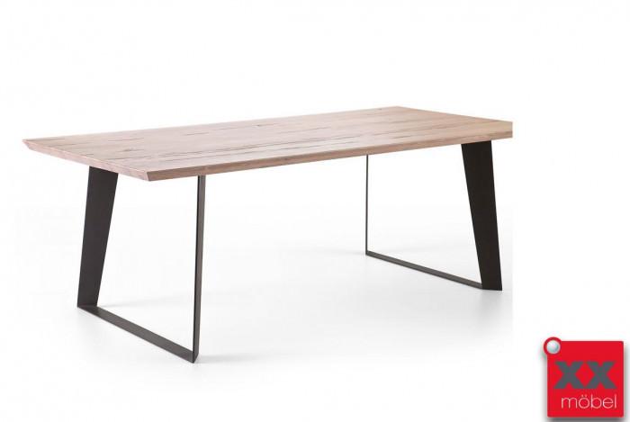 Esstisch Massivholz | Janek | Eiche - Wildeiche | Ja18