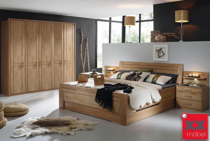Schlafzimmer | Sitara | Wildeiche teilmassiv | W43