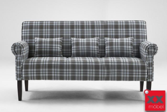 Truhen‐Tischsofa | Tavola | 3 Sitzer Lehnen klappbar | T32