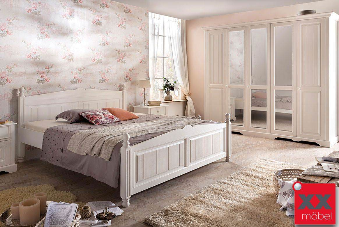 Schlafzimmer im landhausstil  Schlafzimmer Landhausstil online kaufen | XXMÖBEL