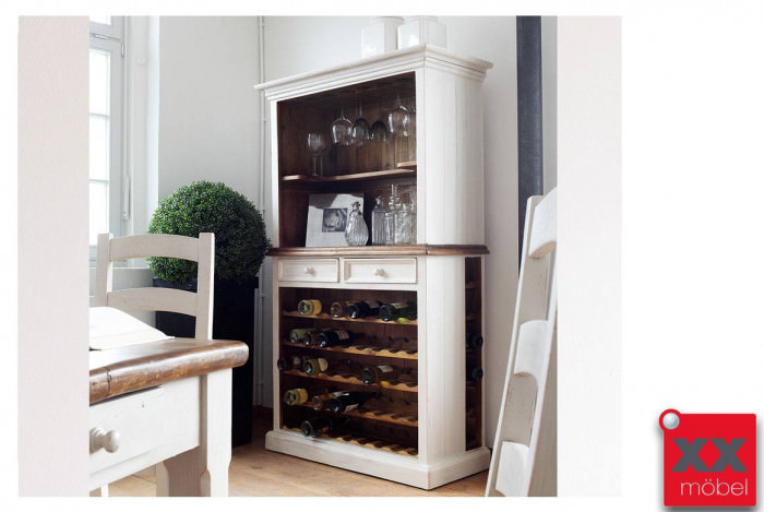 Buffetschrank Landhaus | Bodde | Recycle-Kiefer Massivholz | T14