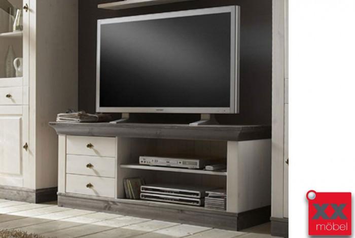 TV Anrichte | Linea | Kiefer Massivholz | T05