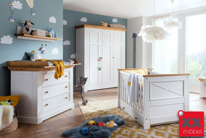 Babyzimmer   Julia   Kiefer Massivholz   B02
