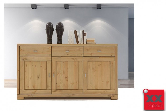 Sideboard Massivholz Vita Kiefer Landhausstil T10