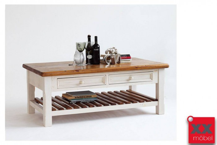 Couchtisch | Bodde | Recycle-Kiefer Massivholz T55