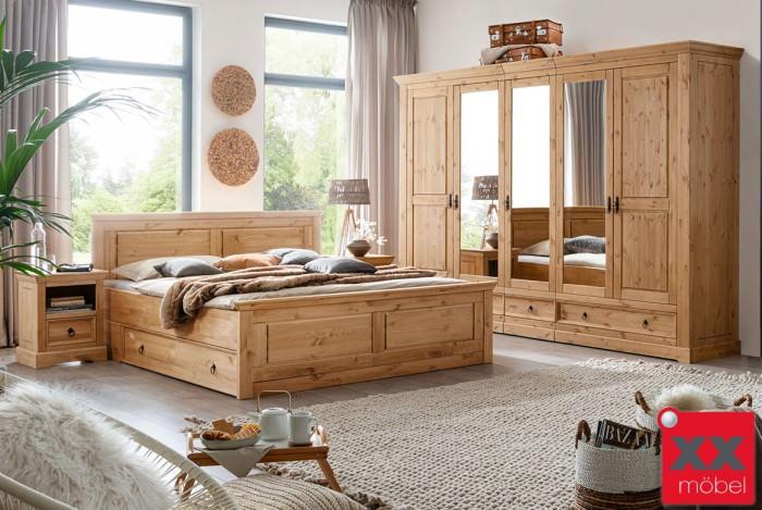 Schlafzimmer | Cinderella | Kiefer massiv | W03