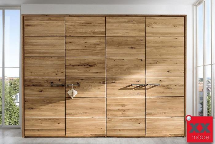 kleiderschrank massivholz front f wildeiche ast. Black Bedroom Furniture Sets. Home Design Ideas