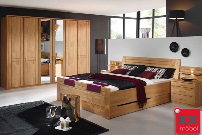 Schlafzimmer | Sitara | Erle teilmassiv | S55