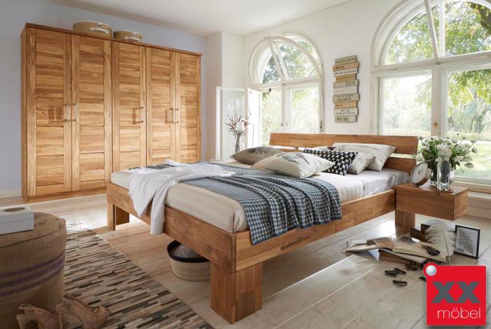 Schlafzimmer | Nixt | Wildeiche Massivholz | S01
