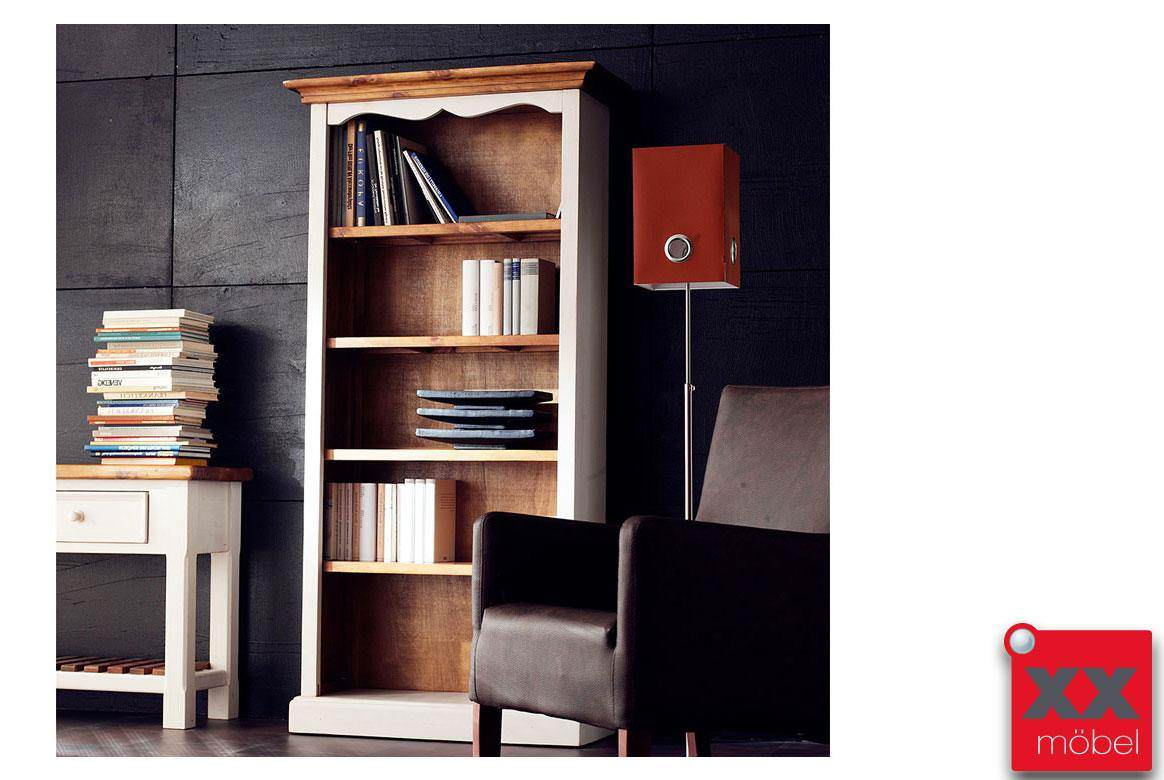 Bücherregal   Bodde   Recycle-Kiefer Massivholz   T07