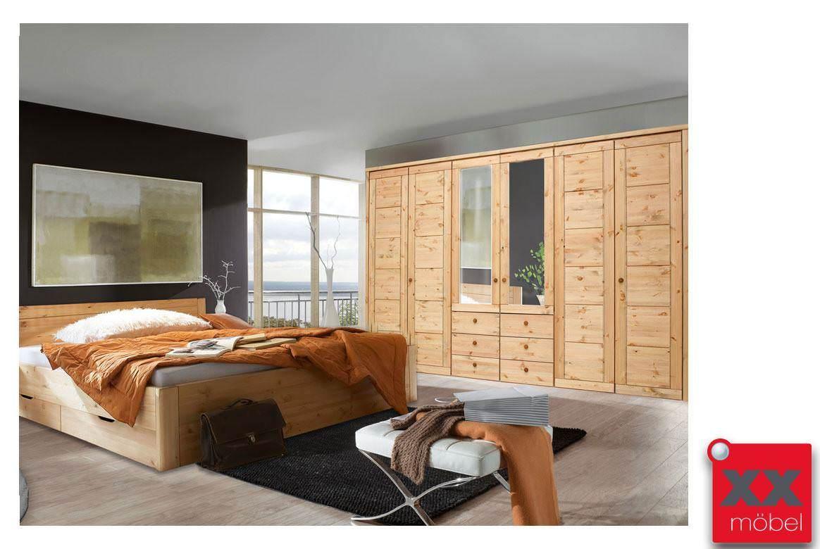 Schlafzimmer | Rauna | Kiefer massiv | T329
