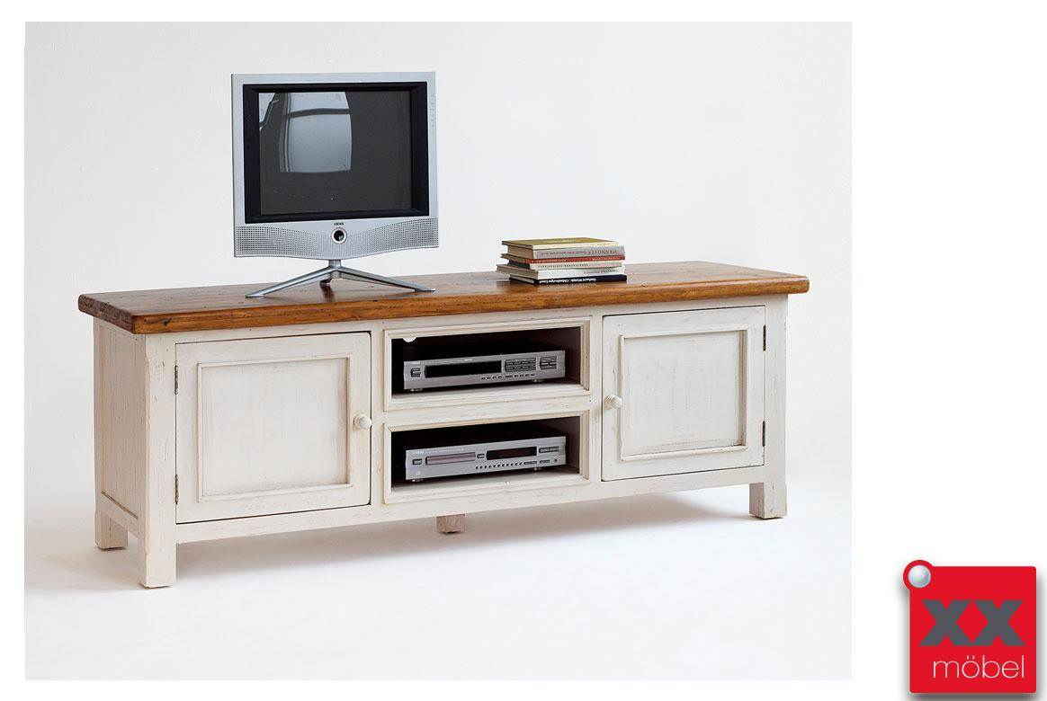 TV  Lowboard | Bodde | Recycle-Kiefer Massivholz T60