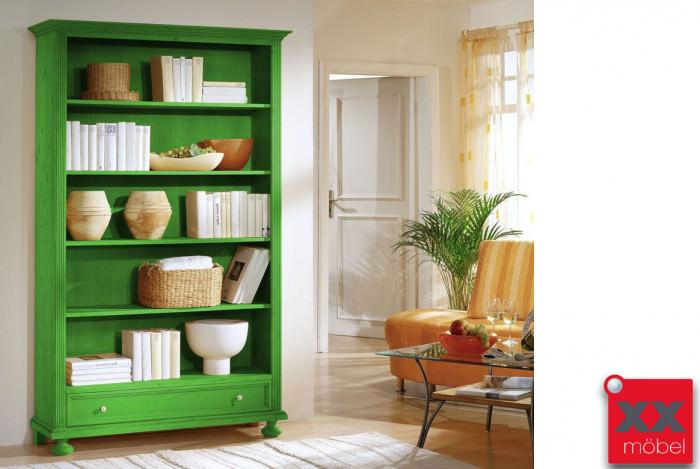 Bücherregal | Alina G4 | Fichte Massivholz | T60