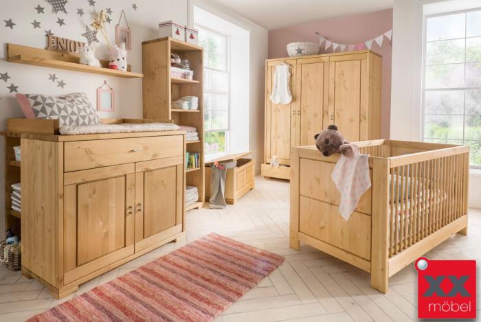 Babyzimmer Starter Set | 4-tlg. | Vita | Kiefer Massivholz | B06