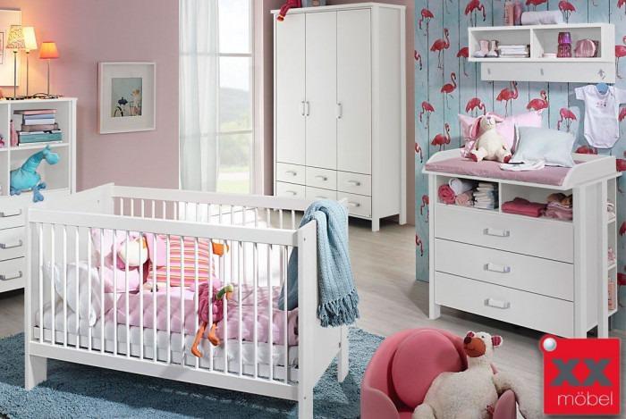 Babyzimmer | 4-tlg. | Kristin | Einsteiger Set | M02