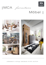 Produktübersicht MCA Möbel.