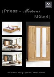 Produktübersicht Priess Möbel.