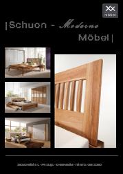 Produktübersicht Schuon Möbel.