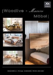 Produktübersicht Woodlive Möbel.